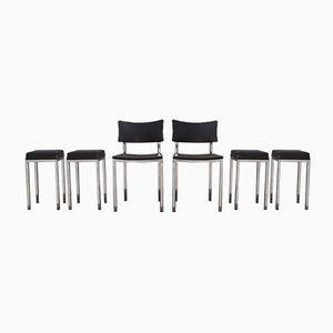 Stühle & Hocker Set von Rudi Verelst für Novalux, 1960er