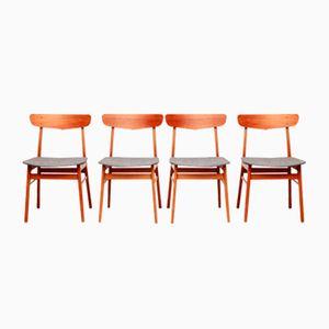 Dänische Esszimmerstühle von Farstrup, 1960er, 4er Set