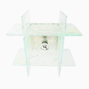Italienische Murano Glas Deckenlampe von Carlo Nason für Mazzega, 1970er