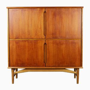 Danish Teak Highboard by Børge Mogensen for Fredericia, 1950s