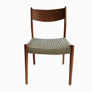 Skandinavischer Teak Stuhl von Cees Braakman für Pastoe, 1960er