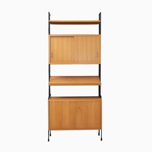 Omnia Ash Shelving System from Hilker, 1960s