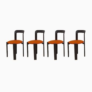 Chaises de Salon par Bruno Rey, 1970s, Set de 8