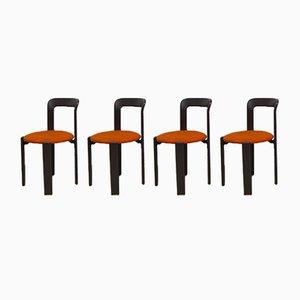 Esszimmerstühle von Bruno Rey, 1970er, 8er Set