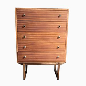 Mid-Century Tall Boy Chest of Drawers