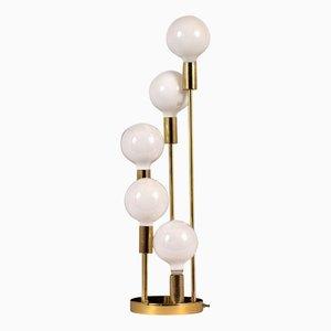 Mid-Century Modern Brass Table Lamp, 1960s