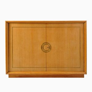 Art Deco Eiche und Messing Sideboard