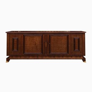 Art Deco Rosewood Veneered Sideboard by Jules Leleu, 1930s