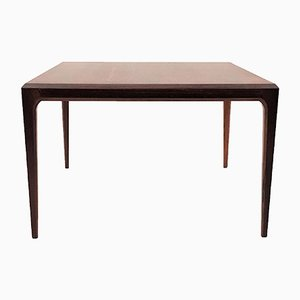 Rio Rosewood Square Coffee Table by Johannes Andersen for CFC Silkeborg, 1960s