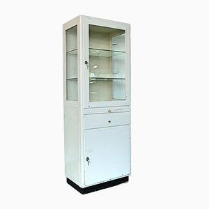 Industrial Wooden Cabinet, 1950s