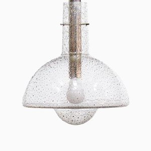 Mid-Century Glass Pendant Lamp from Limburg, 1960s