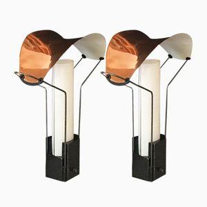 Lampes de Bureau Palio par Perry King and Santiago Miranda pour Arteluce, 1980s, Set de 2