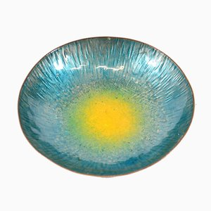 Enameled Copper Bowl from Metal Arte Sulmona, 1950s