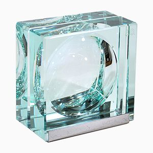 Vintage Kristallglas Fotohalter