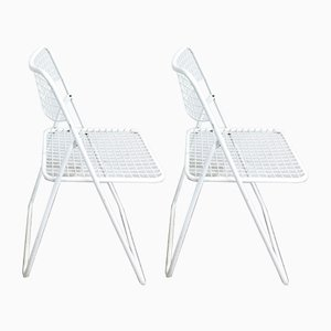 Ted Net Dining Chairs by Niels Gammelgaard for IKEA, 1978, Set of 2