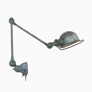 Industrielle 2-armige Wandlampe von Jieldé, 1960er