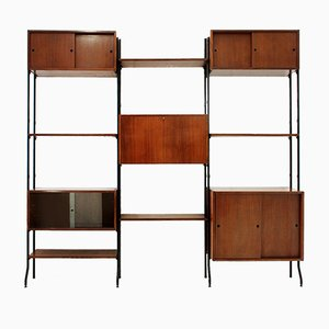 Mid-Century Italian Wall Unit from Amma, 1950s