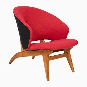 Niederländischer Mid-Century Sessel von Theo Ruth für Artifort, 1950er