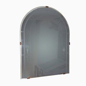 Art Deco Italian Mirror from Luigi Fontana, 1920s