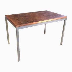 Table d'Appoint à Motif Abstrait en Cuivre de Opal Möbel, 1960s