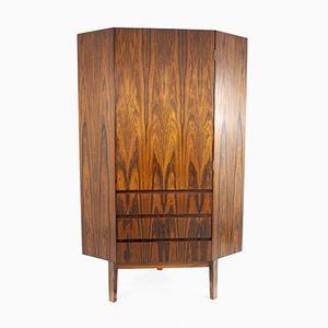 Angled Rosewood Wardrobe, 1960s