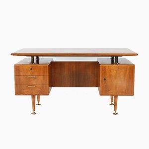 Mid-Century Modern Walnut Desk by A.A. Patijn for Poly-Z, 1960s