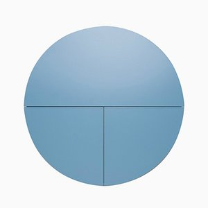 White & Blue Multifunctional Pill Cabinet by Dalius Razauskas for Emko