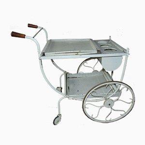 Vintage Brass Serving Cart