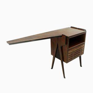 Kleiner italienischer Konsolen Schreibtisch, 1950er