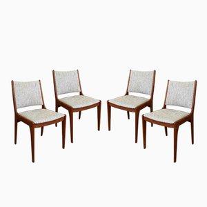 Teak Esszimmerstühle von Uldum Møbelfabrik, 1960er, 4er Set
