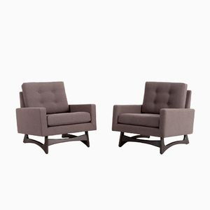 2406-C Cube Chairs by Adrian Pearsall for Craft Associates, 1950s, Set of 2