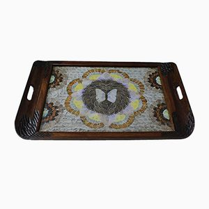 Art Deco Butterfly Wing Serving Tray