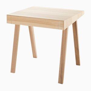 Großer 4.9 Schreibtisch aus litauischer Esche in warmem Farbton von Marius Valaitis für Emko
