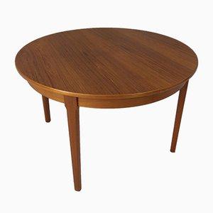 Ausziehbarer Vintage Teak Tisch von Rosengaarden