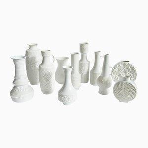 Porzellan Vase Set von Royal KPM, AK Kaiser, & Thomas, 1970er