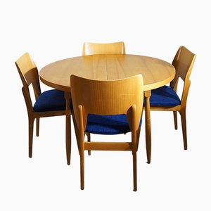 Dining Set in Birch by Olavi Lieto for Asko, 1953