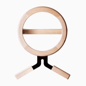 Modo Metal and Wood Clothes Hook by Artful casacontemporanea