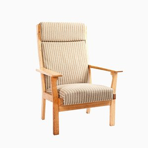 Model GE 181 A Lounge Chair by Hans J. Wegner for Getama, 1960s