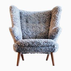 Vintage Papa Bear Chair von Hans J. Wegner für A.P. Stolen