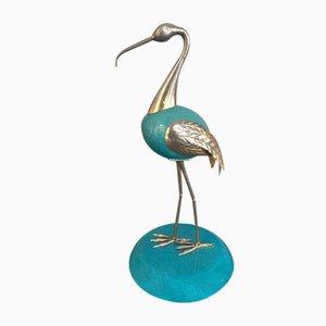 Ibis Skulptur von Antonia Pavia, 1950er