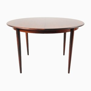 Danish Two-Leaf Extendable Dining Table by Arne Vodder for Sibast, 1960s