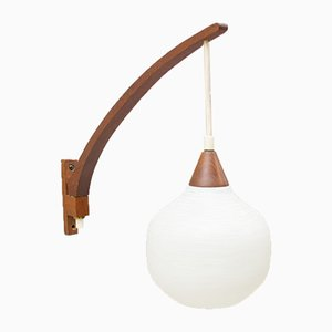 Wall Lamp by Uno & Östen Kristiansson for Luxus, 1950s