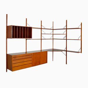 Système d'Étagère d'Angle Modulable par Poul Cadovius, 1960s