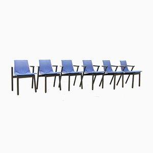 Modell Villabianca Stühle von Vico Magistretti für Cassina, 1980er, 6er Set