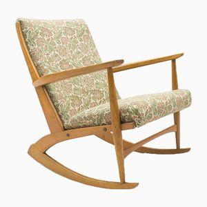Rocking Chair Mid-Century par Georg Jensen pour Tønder Møbelwerk
