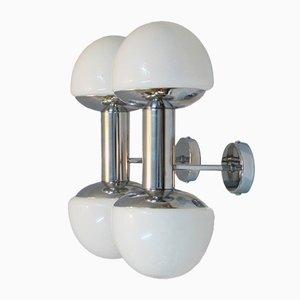 Italienische Space Age Wandlampen, 1960er, 2er Set