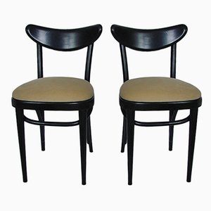 Modernist Side Chairs, 1940s, Set of 2