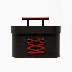 Blackbeauty Hinoki Cypress Jewellery Box von Sonia Pedrazzini für Hands On Design
