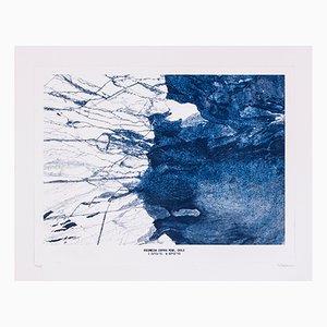 Copper Mine Etching Print No. 2 by David Derksen, 2018