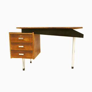 Vintage Dutch Tripod Desk by Cees Braakman for Pastoe